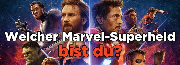 Bild 1:Welcher Marvel-Superheld steckt in dir?