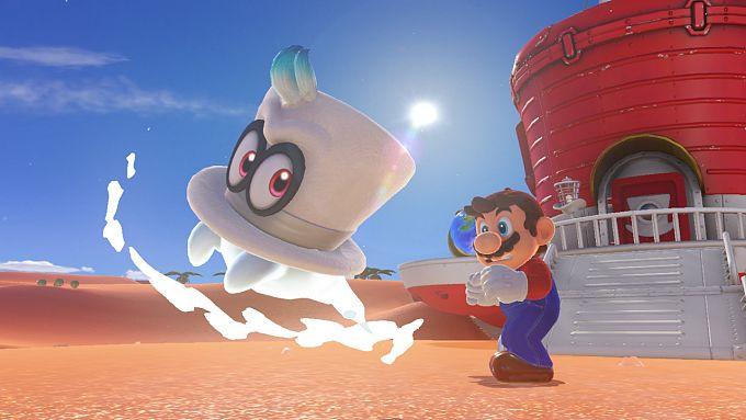 Bild 1:Cappy, Marios neuer Freund