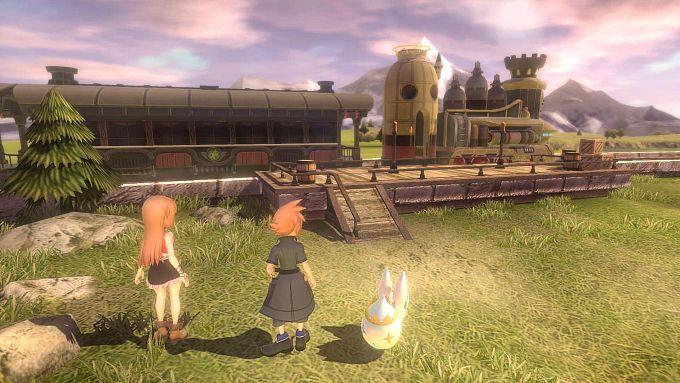 Bild 1:Nehmen wir den Zug?