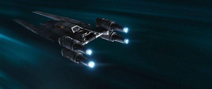 Bild 1:Ob Star Wars oder Star Trek ... so was gehört auf eine Leinwand!