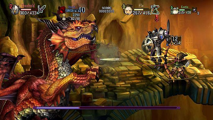 """Bild 1:Der MJ-Spieletipp: Heiße Hüften in """"Dragons Crown Pro"""""""