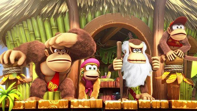Bild 1:Der MJ-Spieletipp: Switche zwischen affigen Affen und rüstigen Recken