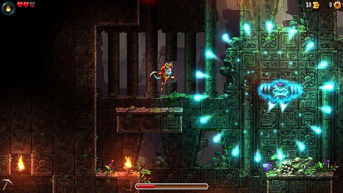 """Bild 1:Der MJ-Spieletipp: """"SteamWorld Dig 2"""" gräbt sich durch"""