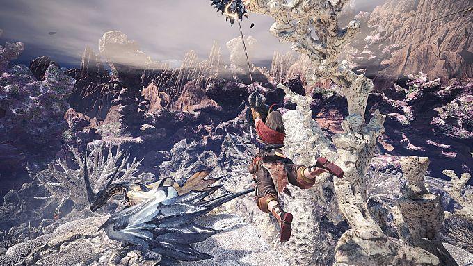 """Bild 1:Der MJ-Spieletipp: Gigantismus in """"Monster Hunter: World"""""""