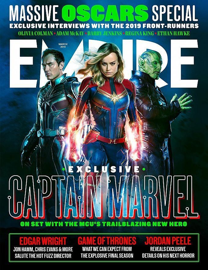 "Bild 1:So heroisch: Clip, Cover & Charakterposter zu ""Captain Marvel"""
