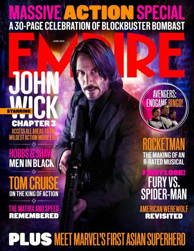 """Bild 1:Einladend: """"John Wick - Kapitel 3"""" punktet mit Poster & Promos"""