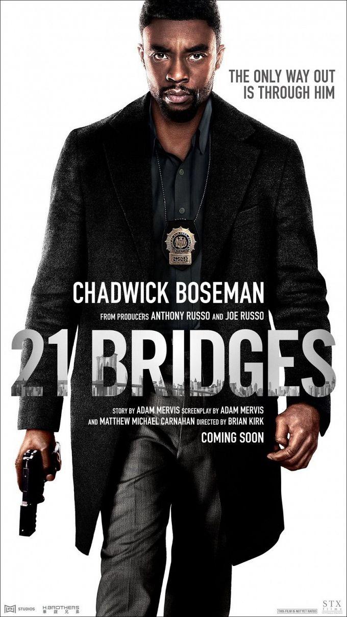 """Bild 3:Cop-Thriller: Neue Poster zu """"21 Bridges"""" & """"Black and Blue"""""""