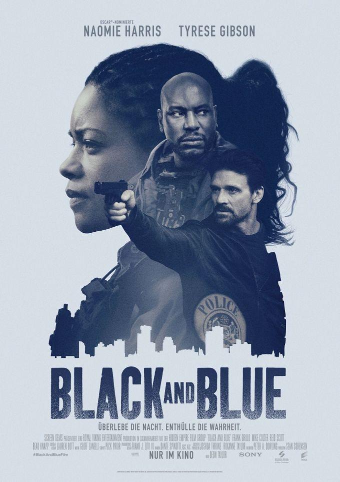 """Bild 1:Cop-Thriller: Neue Poster zu """"21 Bridges"""" & """"Black and Blue"""""""