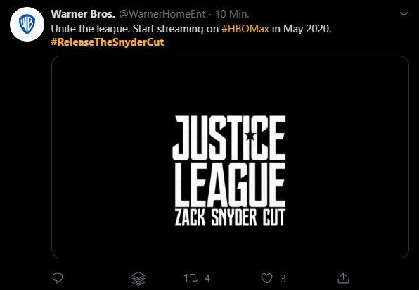"""Bild 1:Fanwunsch: Kommt """"Justice League"""" im """"Zack Snyder Cut"""" jetzt doch noch?"""