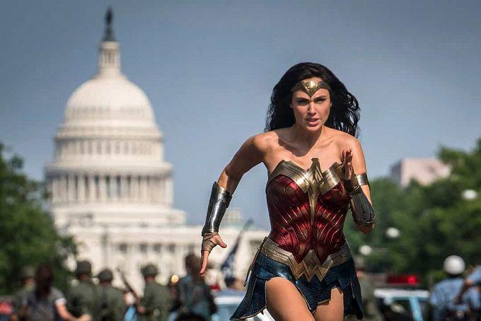 """Bild 1:Auf den Kopf gestellt: Neue Bilder aus """"Wonder Woman 1984"""""""