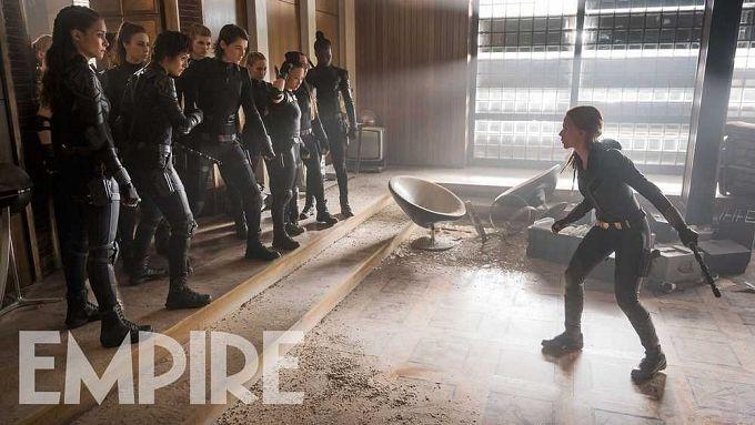 """Bild 1:Neues Material, aber: Auch """"Black Widow"""" von Corona verjagt"""