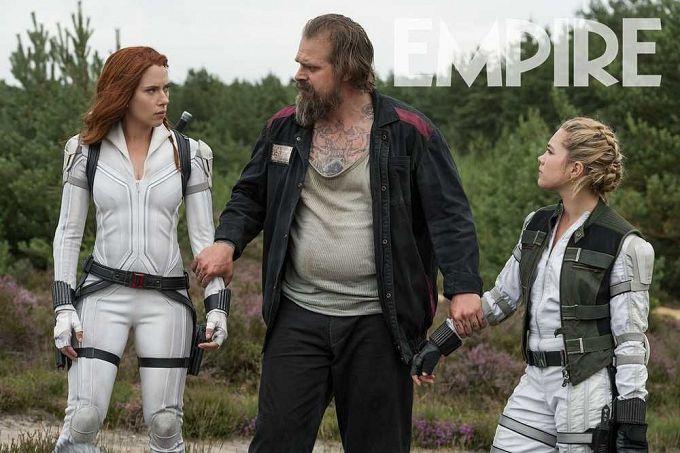 """Bild 2:Neues Material, aber: Auch """"Black Widow"""" von Corona verjagt"""