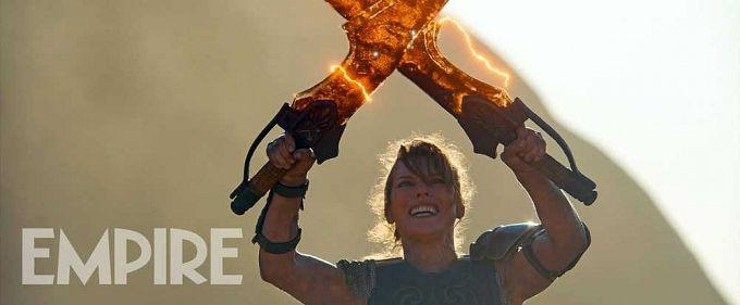 "Bild 1:Neue ""Monster Hunter""-Bilder: Milla Jovovich in voller Montur"