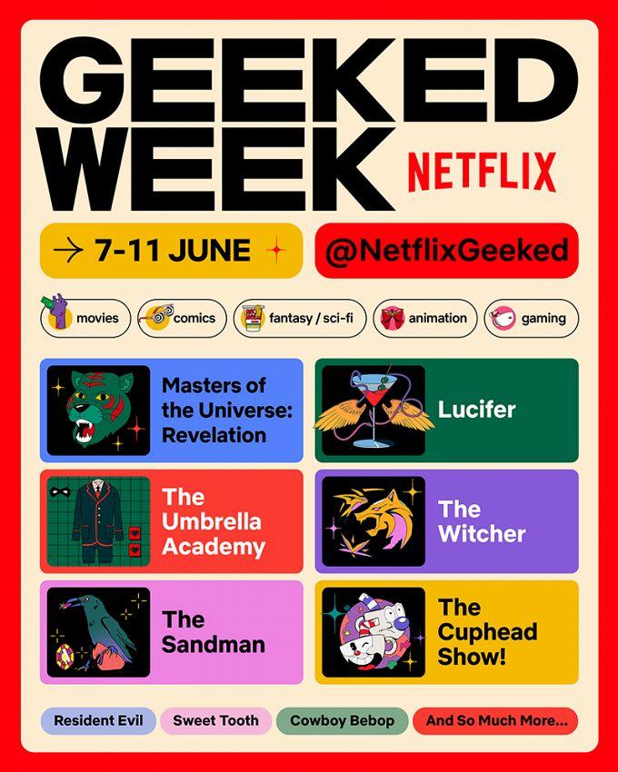 Bild 1:Geeked Week: Virtuelle Netflix-Con zu den neuen Filmen, Serien, Games & Co.