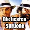 Echte Klopper: Die besten Sprüche von Terence Hill & Bud Spencer