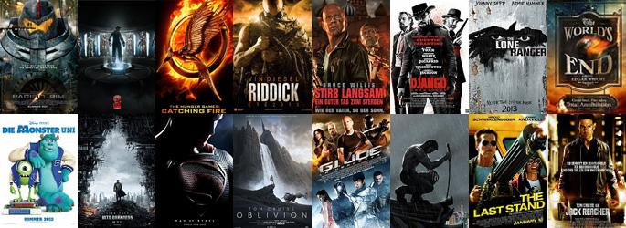 Die Kinofilme 2013 - Der Moviejones-Jahresausblick