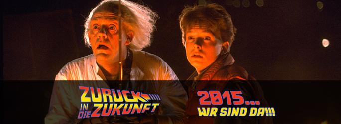 """Der 21.10.2015 ist da! Unser """"Zurück in die Zukunft"""" Special nimmt euch mit"""