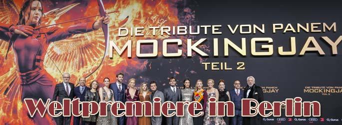 """""""Die Tribute von Panem"""": Berlin feiert Weltpremiere von """"Mockingjay - Teil 2"""""""