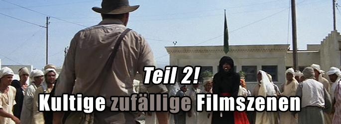 Was'n Glück: Filmszenen, die durch Zufall entstanden sind - Teil 2