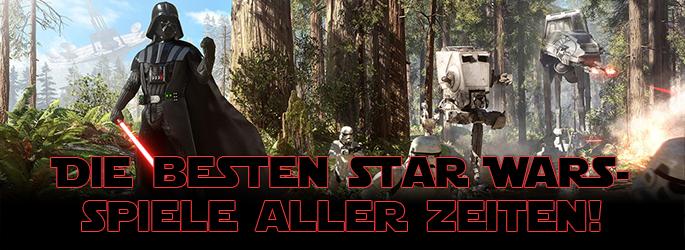 Die besten Star Wars-Spiele aller Zeiten!