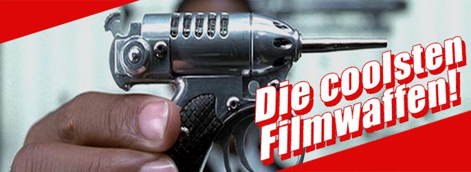 Zum Schießen, Schnetzeln & Schlagen: Die coolsten Filmwaffen!
