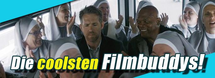 Zusammen einfach unschlagbar: Die coolsten Filmbuddys!
