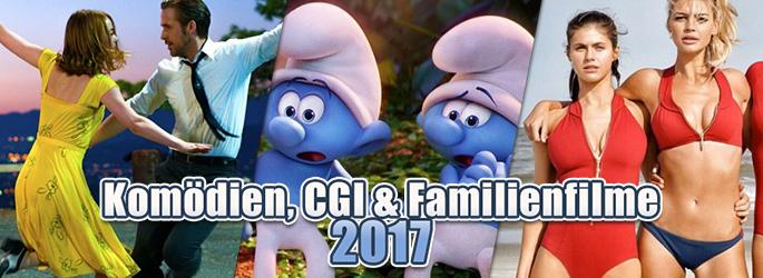 Lach mal wieder! Komödien, CGI und Familienfilme 2017