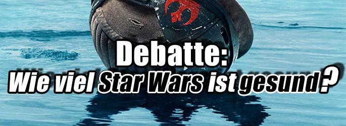 """Debatte: Wie viel """"Star Wars"""" macht Laune - und wann ist es zu viel?"""