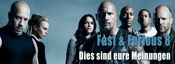 """""""Fast & Furious 8"""": Dies sind eure Meinungen!"""