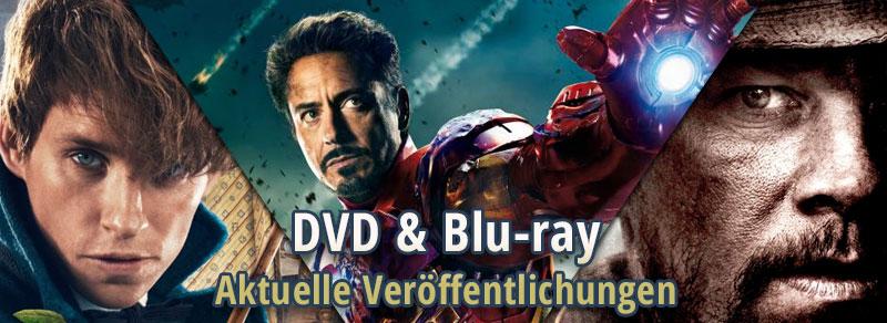 Neue Veröffentlichungen auf DVD, Blu-ray, UHD - Zauberer, Aliens und Soldaten