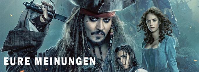 """""""Pirates of the Caribbean 5"""": Dies sind eure Meinungen"""