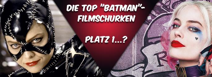 """Des Dunklen Ritters Feinde: Unsere Top 10 der """"Batman""""-Filmschurken!"""
