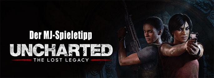 "Der MJ-Spieletipp: ""Uncharted - Lost Legacy"" - Chloe ist auch mal ganz Nate"
