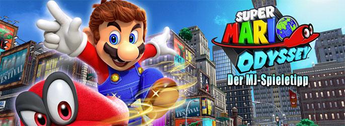 """Der MJ-Spieletipp: """"Super Mario Odyssey"""" setzt Mario den Hut auf"""