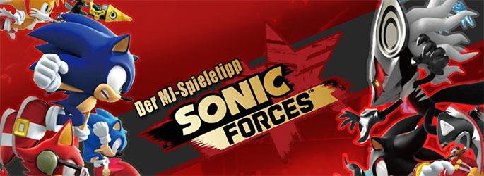 """Der MJ-Spieletipp: Flink wie der Wind mit """"Sonic Forces""""!"""