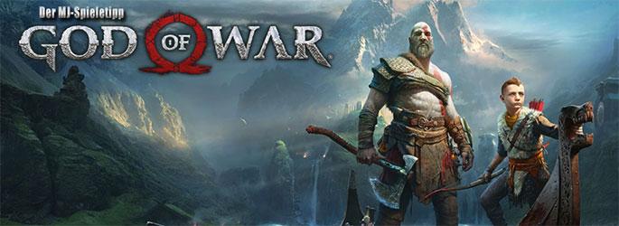"""Der MJ-Spieletipp: """"God of War"""" entfesselt Kratos gegen nordische Götter"""