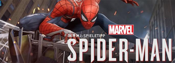 """Der MJ-Spieletipp: """"Marvels Spider-Man"""" spinnt sein Netz"""