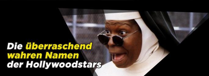 Die überraschenden wahren Namen der Hollywoodstars!