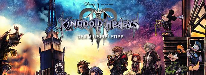 """Der MJ-Spieletipp: """"Kingdom Hearts 3"""" entführt euch in Disneys Welten"""