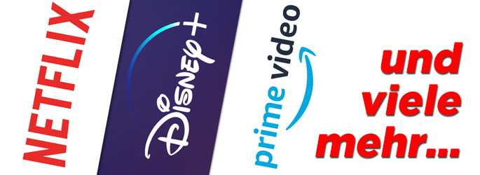 Netflix, Amazon, Disney+ & Co.: Streaminganbieter in der Übersicht!