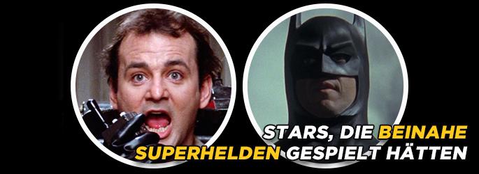 So nah dran: Stars, die beinahe Superhelden gespielt hätten