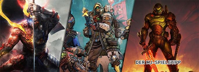 """Der MJ-Spieletipp: """"Doom Eternal"""", """"Borderlands 3"""" und """"Nioh 2"""""""