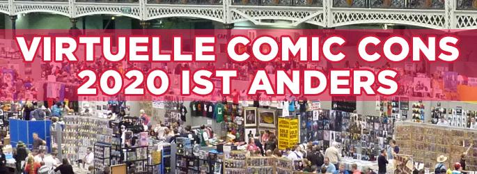 Virtuelle Comic Cons: Film- und Serienankündigungen, Trailer & mehr per Stream?