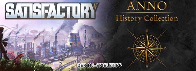 """Der MJ-Spieletipp: Bau auf mit """"Anno"""" und """"Satisfactory"""""""