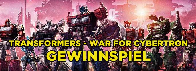 """""""Transformers - War for Cybertron"""": Gewinne 4 gigantische Transformers von Hasbro!"""