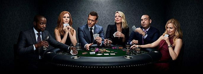 """Suits""-Poster: Katherine Heigl pokert mit, ""Orange Is the New Black"" zieht um"