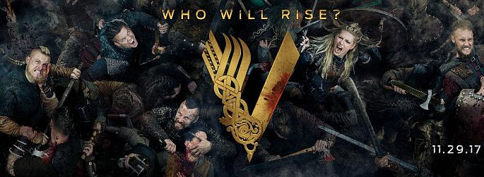 "Wikinger-Gemetzel: ""Vikings"" Staffel 5 Teaser & Poster fragen, wer gewinnt"