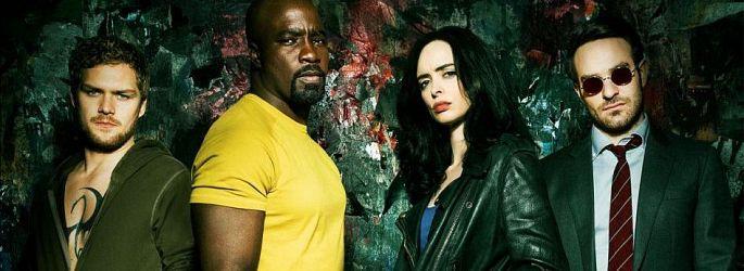 """""""The Defenders"""" auf neuem Poster & Bildern - """"Jessica Jones"""" S2-Zuwachs"""