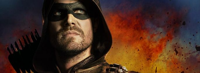 """Arrow"" S7-Promo, Bilder: Neuer Green Arrow in Action + ""The Flash"" S5-Fotos"