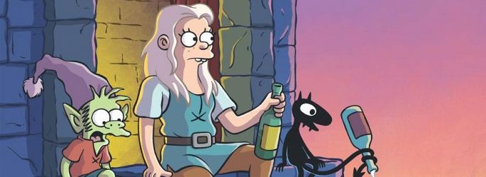 "SDCC: Erster Trailer zu ""Disenchantment"" & ""Wellington Paranormal"""
